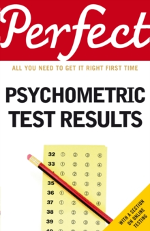 Perfect Psychometric Test Results, Paperback Book