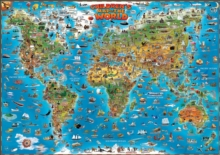 DINO Children's Map of the World : DINO.EN.PP.W, Sheet map, rolled Book