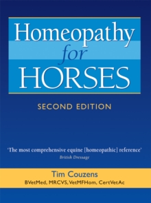 Homeopathy for Horses, Paperback Book