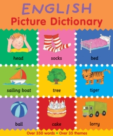 English Picture Dictionary, Paperback Book
