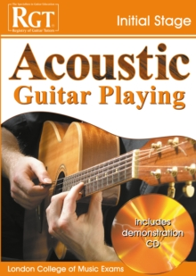 Acoustic Guitar Playing : Initial Stage, Paperback Book