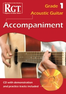 Acoustic Guitar Accompaniment RGT Grade One, Paperback Book
