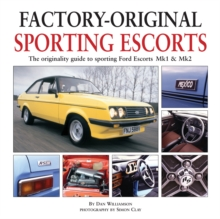 Factory-Original Sporting Mk1 Escorts, Hardback Book