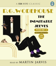 The Inimitable Jeeves (Volume 1) 3xCD, CD-ROM Book