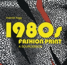 1980's Fashion Print, Hardback Book