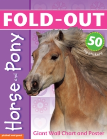 Fold-Out Horse and Pony, Paperback Book