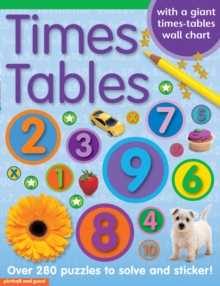 Times Tables Sticker Book, Paperback Book