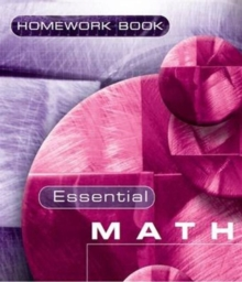 Essential Maths 7c Homework Book, Paperback Book