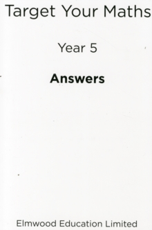 Target Your Maths Year 5 Answer Book : Year 5, Paperback Book