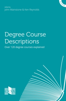 Degree Course Descriptions : Over 120 Degree Courses Explained, Paperback Book