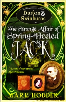 Burton and Swinburne in The Strange Affair of Spring Heeled Jack, Paperback Book