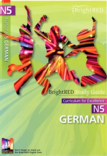 BrightRED Study Guide N5 German, Paperback Book