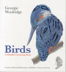 Birds: A Mindful Colouring Book, Paperback Book