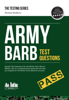 Army BARB Test Questions: Sample Test Questions for the British Army Recruit Battery Test, Paperback Book