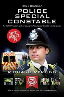How to Become a Police Special Constable, Paperback Book