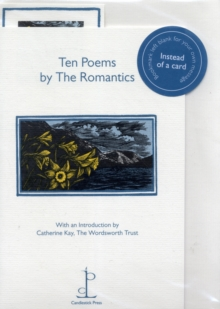 Ten Poems by the Romantics, Pamphlet Book