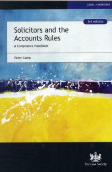 Solicitors and the Accounts Rules : A Compliance Handbook, Paperback Book