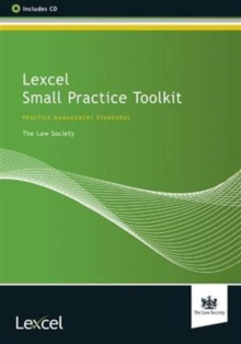 Lexcel Small Practice Toolkit, Mixed media product Book