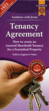 Furnished Tenancy Agreement Form Pack : How to Create an  Assured Shorthold Tenancy for a Furnished Property in England or Wales, Mixed media product Book
