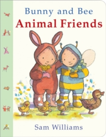 Bunny and Bee Animal Friends, Board book Book