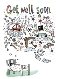 Get Well Soon Doodle: Dreams, Novelty book Book