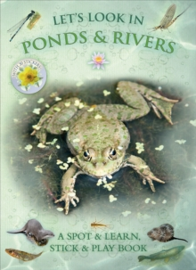 Let's Look in Ponds & Rivers, Paperback Book