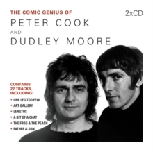 The Comic Genius of Peter Cook and Dudley Moore, CD-Audio Book