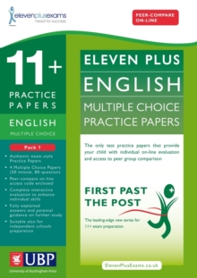 11+ English Multiple Choice Practice Papers : Pack 1, Loose-leaf Book