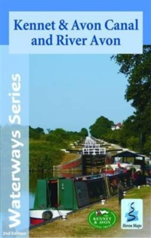 Kennet & Avon Canal and River Avon, Sheet map, folded Book
