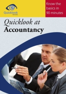 Quicklook at Accountancy, Paperback Book