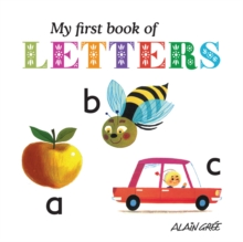 My First Book of Letters, Board book Book