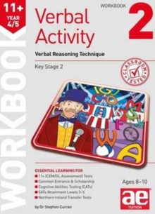 11+ Verbal Activity Year 4/5 : Verbal Reasoning Technique Workbook 2, Paperback Book