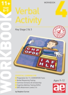11+ Verbal Activity Year 5-7 Workbook 4 : Technique for CEM Style Questions, Paperback Book