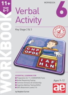 11+ Verbal Activity Year 5-7 Workbook 6 : Additional Multiple-Choice Practice Questions, Paperback Book