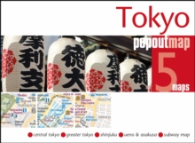 Tokyo PopOut Map, Sheet map, folded Book