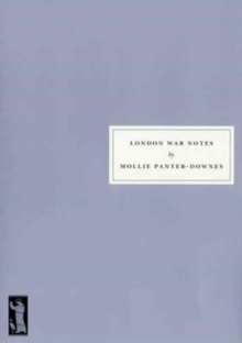 London War Notes, Paperback Book