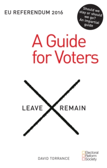 EU Referendum 2016: A Guide for Voters, Paperback Book