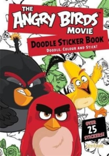 Angry Birds Movie Doodle Sticker Book, Paperback Book