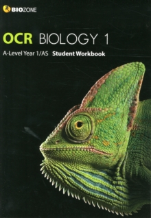 OCR Biology 1 A-Level/AS Student Workbook, Paperback Book