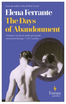 The Days of Abandonment, Paperback Book