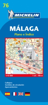 Map 9076 Malaga, Sheet map, folded Book