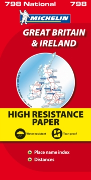 Great Britain and Ireland High Resistance, Sheet map, folded Book