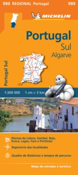 Portugal Sul, Algarve, Sheet map, folded Book