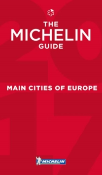 Main Cities of Europe 2017, Paperback Book