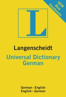 German Universal Langenscheidt Dictionary