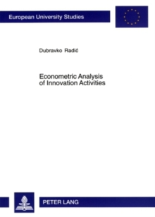 Econometric Analysis of Innovation Activities