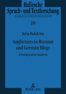 Anglicisms in Russian and German Blogs