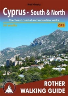 Cyprus : The Finest Valley and Mountain Walks, Paperback Book