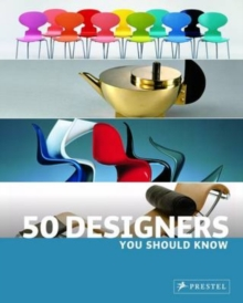 50 Designers You Should Know, Paperback Book