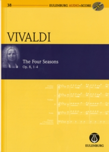 THE FOUR SEASONS OP. 8 RV 269, 315, 2937, Paperback Book